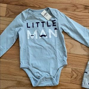 Baby GAP little man outfit